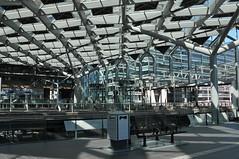 Den Haag Centraal Station (Mary Berkhout) Tags: roof lines architecture thenetherlands denhaag railwaystation thehague architectuur lijnen treinstation nederlandsespoorwegen buildingstructure denhaagcentraalstation maryberkhout