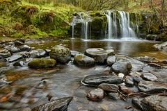 Blaen-y-glyn (paul blakeway) Tags: uk green nature water beautiful wales river waterfall rocks breaconbeacons