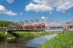 Border bridge   M 262.004   OsOs 10008   Hol nad Moravou ttna hranica (lofofor) Tags: diesel most motor 004 narodeniny morava rieka fontna hodonn hranica kredenc hol m262 motorov vlakynet