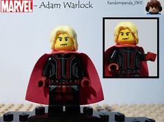 Adam Warlock (Random_Panda) Tags: comics book comic lego fig character books super hero figure superhero characters heroes minifig minifigs superheroes marvel figures figs minifigure minifigures