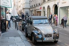 Citroen 2 CV Dolly (eddy.kamalsky) Tags: travel paris france classic car french citroen backpacking 2cv dolly ente