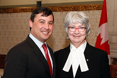 Michael celebrates the career of Audrey O'Brien, Clerk of the House of Commons | Michael célèbre la carrière d'Audrey O'Brien, greffière de la Chambre des communes