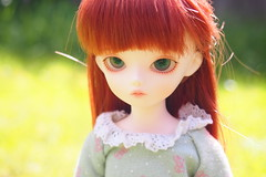 Yesenia (Tales of Karen) Tags: white beauty shiny doll version may fairy bjd resin 3rd bluefairy balljointed