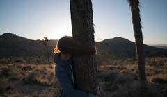 Form (thedarkerdark) Tags: california sunset nature desert redhead harukimurakami joshuatreenationalpark surreality peoplescreatives