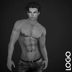 LOGO Slink Physique Male Body Appliers Portrait (getLOGOed) Tags: logo ethan secondlife slink appliers meshavatar