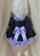 Pastel goth (ceressiass) Tags: black cute scale promotion shop ball asian miniature clothing doll hand dress purple princess sale handmade sewing 14 lavender clothes size made lolita lilac short kawaii bjd etsy abjd msd sewed jointed layered promote ceress ceressbjdclothes