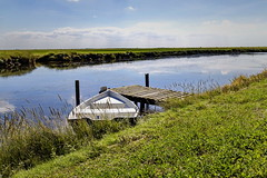 Das Boot (Rolf Piepenbring) Tags: germany landscape northsea landschaft nordsee holm hallig norddeutschland hallighooge