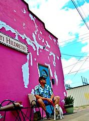 PINK walls BLUE skies (The Wild Roam Free) Tags: pink texas alpine highdesert westtexas