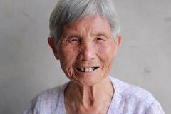 My Grandma (Pei Chen Lu) Tags: portrait people woman home smile elder