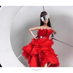 @pypeatthanij   ขอบคุณนะครับ Alexander McQueen  Ready to Wear  #alexandermcqueen #fr2 #integritytoys #maisoncelestia #Queen   #gorgeous #barbieworld #runway#fashionroyaltydollthailand #agnesvonweiss (maison_celestia) Tags: gorgeous queen runway fr2 alexandermcqueen barbieworld integritytoys agnesvonweiss maisoncelestia