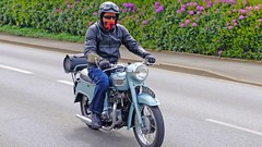 TRIUMPH TIGER 110 1960 (claude 22) Tags: bretagne tour 2016 abva vehicule ancien old vintage triumph tiger 110 1960 claude22 classic bike motorcycle moto