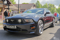 Ford Mustang GT | EU60 KZB (Jgalea14) Tags: auto black ford sports car sport race canon automobile outdoor sunday may engine tire racing lancashire vehicle preston motor mustang gt phantom meet supercar 22nd winger fulwood 100d eu60 kzb pscm eu60kzb