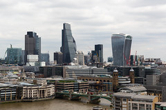 Financial Factories (Mikepaws) Tags: city uk greatbritain england urban money london tower skyline architecture skyscraper landscape europe cityscape skyscrapers unitedkingdom britain capital panoramic southbank viewpoint financial citycentre banking cityoflondon centrallondon squaremile greaterlondon