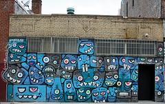 by Phetus (SA_Steve) Tags: nyc blue streetart art wall brooklyn mural expressionism monsters bushwick monstrous phetus phetus88 monstrousexpressionism