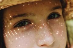 (esmhs) Tags: light summer portrait sun sunlight eyes warm freckles lightspots