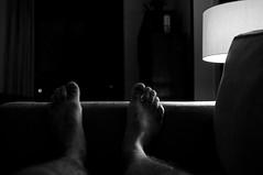 Tamanho 42 (renanluna) Tags: ps feets noite night abajour casa home monocromia monochromatic pretoebranco blackandwhite pb bw sopaulo 011 sp br 55 fuji fujifilm fujifilmfinepixx100 x100 renanluna