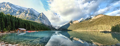 Lake Louise, Banff National park, Alberta, Canada - ICE(1)6509-17 (photos by Bob V) Tags: park panorama lake mountains reflection rockies banff rockymountains lakelouise mountainlake banffnationalpark canadianrockies reflectiononwater banffpark mountainpanorama