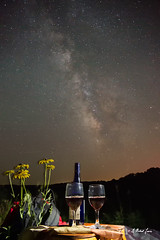 Romance Beneath the Ozark Sky (G Michael Lewis (Taking a Break for a while)) Tags: milkyway nightsky sky night stars galaxy astrophotography outdoor wine romance flowers lightpainting picnic nature missouri ozarks