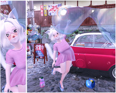 Bubble fun (Yukiterudiary) Tags: kemono anime kawaii neko sl secondlife tamagosenbei gacha ambix festival miyagawacgo