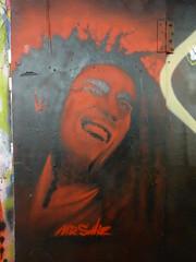 Mr Shiz graffiti, Leake Street (duncan) Tags: graffiti bobmarley shiz leakestreet mrshiz