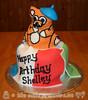 Paris and Italy Themed Birthday Cake