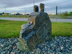 K9? (timo_w2s) Tags: summer dog stone finland helsinki harbour k9 vuosaari