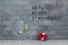 One Time - One Place - One Human (anthsnap!) Tags: denmark copenhagen memorial kastellet finnreinbothe flame warmemorial