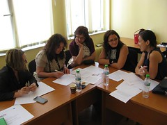 """EMEE workshop for museum professionals on """"bridging the gap"""" at Bulgarian National Polytechnic Museum • <a style=""""font-size:0.8em;"""" href=""""http://www.flickr.com/photos/109442170@N03/27938977441/"""" target=""""_blank"""">View on Flickr</a>"""