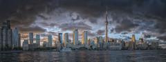 Sunset on Toronto (superdavebrem77) Tags: toronto panorama canadaday sunset goldenhour canon eos70d