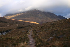 Torridon Mountains - 20 December 2006 (Rail and Landscapes) Tags: ross wester