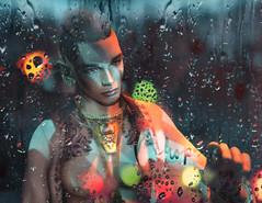 G O N E (iBi 8f8) Tags: sl secondlife virtuallife 8f8 ibi rain tears hope k mandala