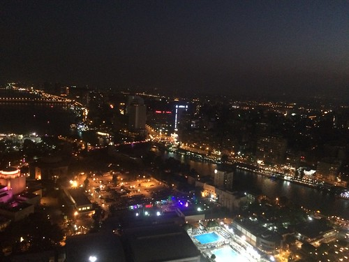 From the top of Cairo tower