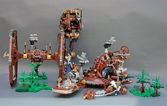Steamwars - the MOC collection (adde51) Tags: adde51 lego moc steampunk steamwars collection foitsop