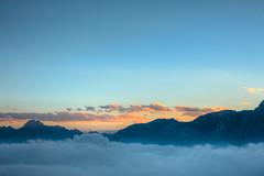 Mare di nubi... (XXAquarius) Tags: cugn di goria alpi weekend holydays walk trekking montagna nuvole cielo sky