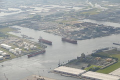 Westpoort Amsterdam Harbour Port Holland Aerial View (roli_b) Tags: westpoort amsterdam harbour harbor puerto port hafen marine industry industrie vessel ship cargo merchant tanker canal waterways wasserstrasse strasse water agua boot boat barco transport cityscape wharves