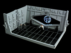 Rogue One - Krennic (Disco86) Tags: lego moc star wars rogue one trailer krennic death trooper fllor led light moon greebles shine