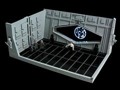 Rogue One - Krennic (Disco86) Tags: lego moc star wars rogue one trailer krennic death trooper fllor led light moon greebles shine