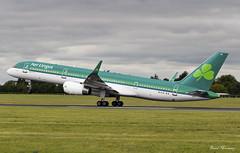 Aer Lingus 757-200 EI-CJX (birrlad) Tags: dublin dub international airport ireland aircraft aviation airplane airplanes airline airliner airways airlines taxi taxiway takeoff departing departure runway rotate climbing boeing b752 b757 757 757200 7572y0 eicjx aerlingus shamrock asl ei129 toronto