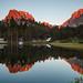 Morning Peak Reflection