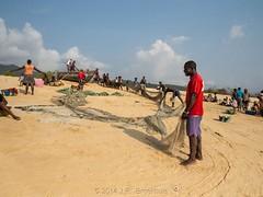 Net Work (Makgobokgobo) Tags: africa people beach sussex hamilton sierraleone peninsula francos freetown sussexbeach westernarea