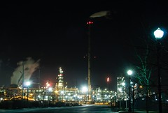 BP Whiting Refinery (vboake) Tags: nightshot indiana bp refinery whiting