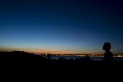 Spanish Dusk in Santander (CAUT) Tags: sunset sky espaa silhouette atardecer twilight spain nikon europa europe dusk himmel cielo silueta santander cantabria anochecer 2014 d610 caut nikond610