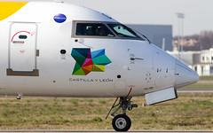 Iberia CRJ 1000 (Flox Papa) Tags: canon is mark iii 1d l usm toulouse iv f4 spotting tls extender 2x planespotting 300mmf4 toulouseblagnac lfbo tlstoulouse toulouselfbo tlsblagnac