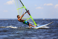 High Speed Windsurfer (Maverick (Dima Fadeev)) Tags: ocean sea summer vacation sky sun man nature wet water sport speed flying athletic cool freestyle surf waves power wind action surfer board horizon extreme surfing surfboard sail windsurfing leisure recreation activity windsurfer active windsurf splashl