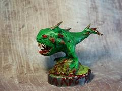 Squig (rkardragon) Tags: clay figure warhammer ork polimer
