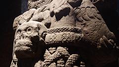 Coatlicue detail c. 1500, Mexica (Aztec)