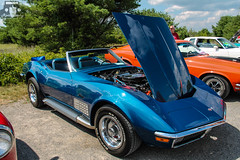 1971 Chevrolet Corvette Convertible (Rivitography) Tags: old classic car canon vintage rebel cool gm antique maine wells adobe t3 expensive rare lightroom 2014 wellsbeach rivitography