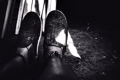 The triangle on my shoe. (Bumsupe) Tags: lighting light triangle happyfeetfriday