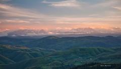 Maglić i Volujak (Novica Alorić) Tags: nature clouds landscape countryside view scenic goldenhour cpl eveninglight luminance mountainrange serbian ndfilter pogled raškaoblast formatthitech starahercegovina