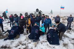 bi (NASA Johnson) Tags: kazakhstan parachute soyuzcapsule zhezkazgan barrywilmore alexandersamokutyaev expedition42 elenaserova russianfederalspaceagencyroscosmos soyuztma14m expedition42landing